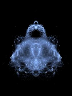 buddhabrot fractal image